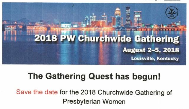 2018 Churchwide Gathering PW