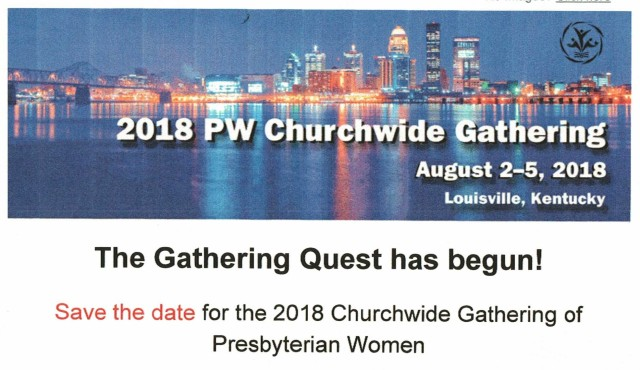 2018 Churchwide Gathering PW